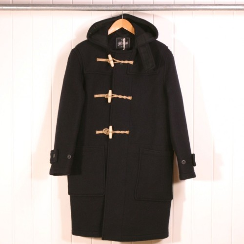 Traditional Gloverall Duffle Coat (Navy)