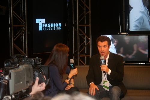 Rick Mercer discusses new career as model | photo by Kevin Naulls